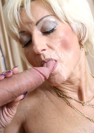 Free Mature Facial Porn Pictures
