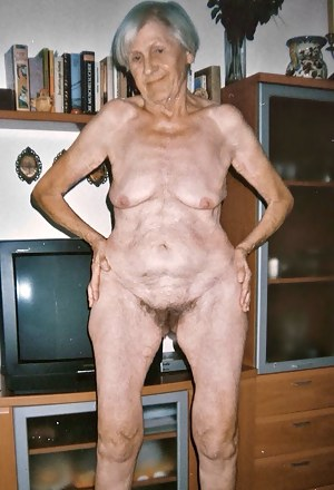 Consider, that old ugly grandma naked