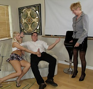Free Mature Threesome Porn Pictures