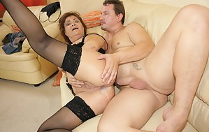 Free Mature Anal Creampie Porn Pictures