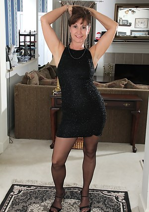 Dress mature anal
