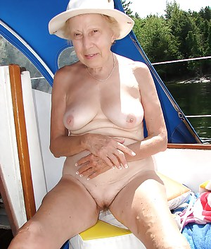 Naked mature boat
