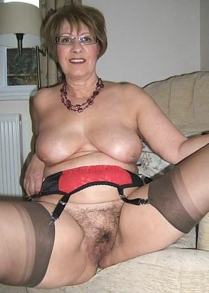 Elegant mature lingerie