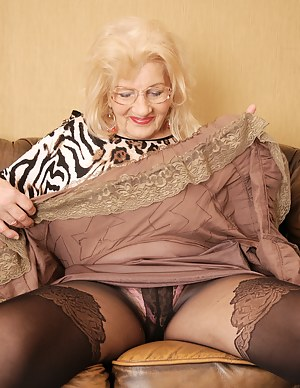 Would not old german granny in pantyhose