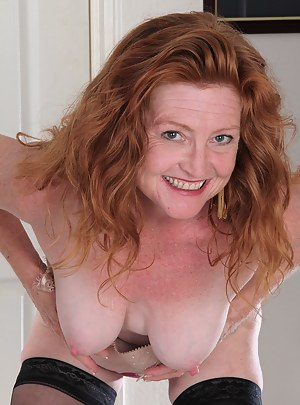 Apologise, nude mature redhead women with freckles lets not spend