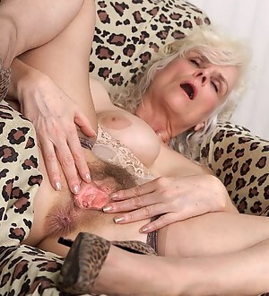 Spread granny pussy Old Women