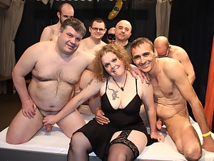Free Mature Gangbang Porn Pictures