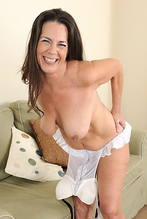 Brunette Milf Pale Big Tits